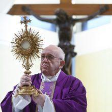 Popiežius suteiks ypatingąjį palaiminimą Miestui ir pasauliui