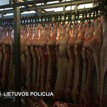 Smūgis šešėliniam prekybos mėsa verslui: įtarimai pareikšti 33 asmenims