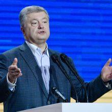 Buvęs Ukrainos prezidentas išrinktas savo partijos pirmininku