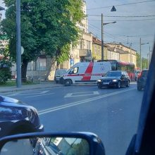 Per avariją Kaune nukentėjo šešios autobuso keleivės