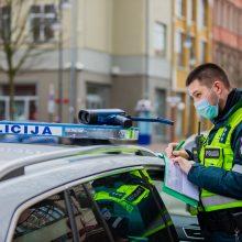 Klaipėdos pareigūnai per savaitę išaiškino penkis neblaivius vairuotojus