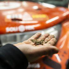 Lenktynininkas A. Juknevičius: naujas bolidas pakeltų galimybių lubas