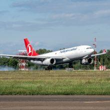 Vilniaus oro uoste išaugo didžiųjų orlaivių skaičius