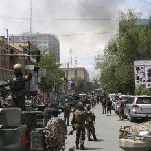 Per išpuolį Kabule talibai užėmė tarptautinės NVO biurą