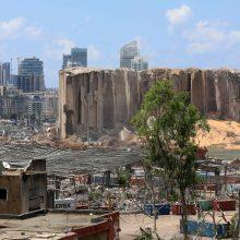 Sprogimo Libane aukų skaičius išaugo iki 165