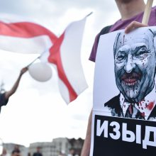 ES nusprendė įvesti naujas sankcijas Baltarusijai