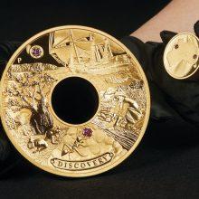 Australija išleido vertingiausią šalyje nukaldintą monetą