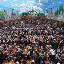 """Šiemet garsiajame """"Oktoberfest"""" festivalyje apsilankė 6,3 mln. žmonių"""