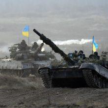 Kijevas neatmeta galimybės trauktis iš Minsko taikos susitarimų