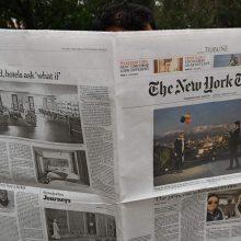 """""""The New York Times"""" atsisako politinių karikatūrų"""