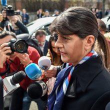 ES vyriausiąja prokurore pretenduojanti tapti rumunė apkaltinta kyšininkavimu