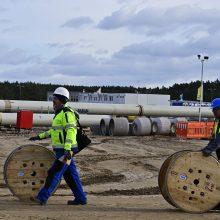 """Priimtos ES dujų direktyvos pataisos apsunkins """"Nord Stream 2"""" įgyvendinimą?"""