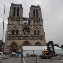 Su prancūzais bus tariamasi dėl Dievo Motinos katedros atstatymo
