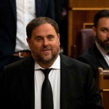 Ispanijos teismas skyrė katalonų lyderiams įkalinimo iki 13 metų bausmes