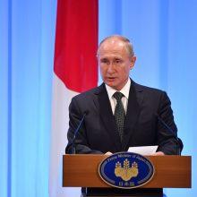 V. Putinas: liberalios, progėjiškos pažiūros primetamos žmonėms