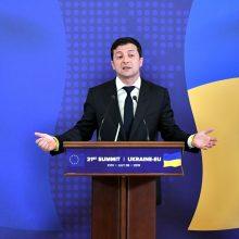 V. Zelenskis: ЕS pratęs sankcijas Rusijai