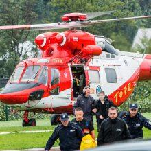 Po gyvybių pareikalavusios audros Tatruose pareigūnai ieško dingusiųjų