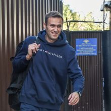 Kremliaus kritikas A. Navalnas paleistas iš areštinės