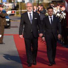 Į Latviją su oficialiu vizitu atvyko Ukrainos prezidentas