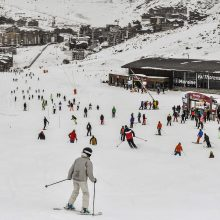 Rusija atmeta pranešimą apie šnipų bazę Prancūzijos Alpėse