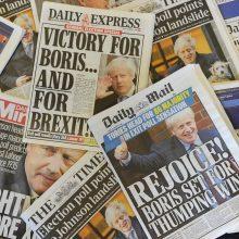 Europos žiniasklaida po britų balsavimo: dabar prasideda maišatis