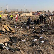 Teheranas: prieš suduždamas Ukrainos lėktuvas buvo pasukęs atgal
