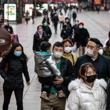 Pietų Korėjoje auga užsikrėtusiųjų koronavirusu skaičius