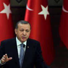 R. T. Erdoganas grasina migrantams atverti vartus į Europą