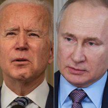 Kremlius: JAV ir Rusijos vadovų susitikimo neįmanoma surengti artimiausiomis savaitėmis