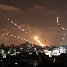 Iš Gazos Ruožo paleista raketa Izraelyje užmušė šešiametį