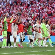 Europos futbolo čempionatas: belgai palaužė danus