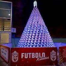 "LFF pristato šventinę socialinę akciją ""Futbolo Kalėdos"""