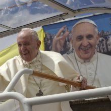 Į popiežiaus mišias Madagaskare susirinko milijonas žmonių