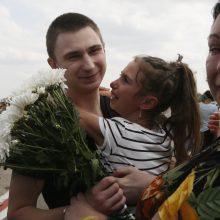 Lietuva ragina Rusiją paleisti kitus nelaisvėje laikomus ukrainiečius