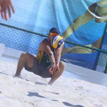 Lietuvos paplūdimio tinklininkai Europos jaunimo čempionate – devinti