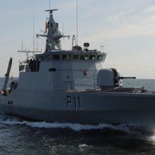 Baltijos jūroje išbandomos technologijos, skirtos Europos jūriniam saugumui