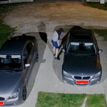 Aleksote siaučia vagių žvalgai: į vieną automobilį nusitaikyta du kartus