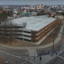 Kauno klinikose atidaryta 300 vietų automobilių aikštelė