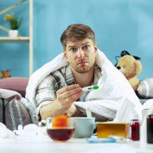 Paskutinę vasario savaitę gripas diagnozuotas trims Klaipėdos apskrities gyventojams