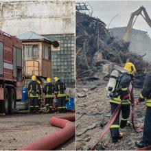 Parama gaisrą Alytuje malšinusiems ugniagesiams jau perkopė 200 tūkst. eurų