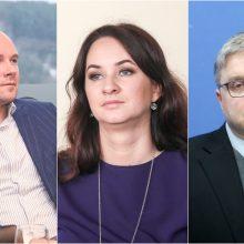 Verslo nuomonės lyderiai: viršūnėje V. Vasiliauskas, Ž. Mauricas ir I. Ruginienė