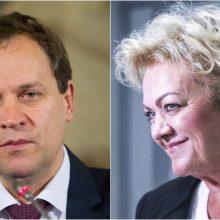 Tyrimą atliekantis Seimo komitetas kviečiasi I. Rozovą ir V. Tomaševskį