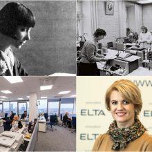 Naujienų agentūrai ELTA – 100: gimę negandos metais vis atgimsta iš naujo