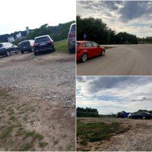 Vairuotojų įžūlumas: Nemuno saloje atrado nelegalias stovėjimo vietas
