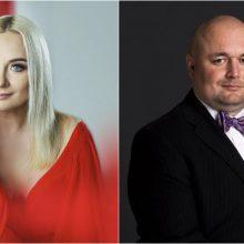 Muzikinio teatro balkone – žavingųjų solistų duetas