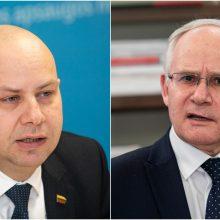 A. Verygą šią savaitę pavaduoja švietimo ministras A. Monkevičius