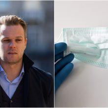 G. Landsbergiui – bauda už konservatorių medikams nupirktas apsaugos priemones