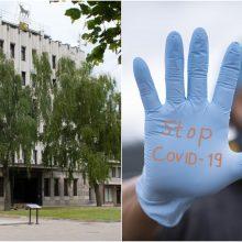 Aliarmas savivaldybėje – tarnautojo šeimoje diagnozuotas koronavirusas