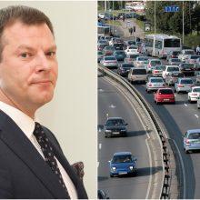 Ministras: vien automobilių mokesčiu kova su tarša nesibaigs