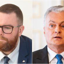 M. Dubnikovas apie prezidento mokestinius siūlymus: nieko tai nepakeis